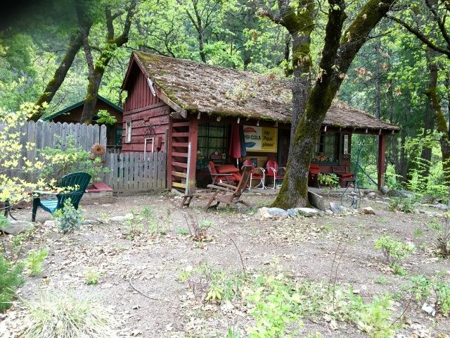 old cabin RR