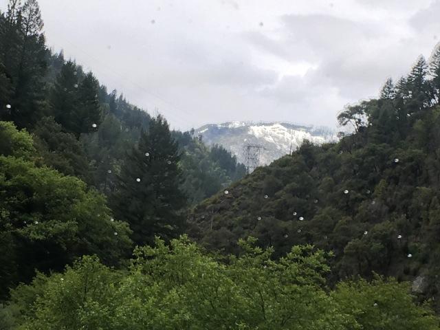 snow rain hwy