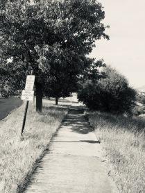 Silvertone walkway